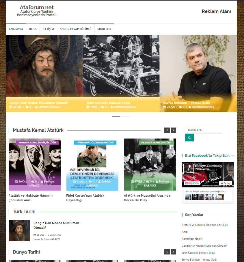 Ataforum .net, Artık İçerik Portalı